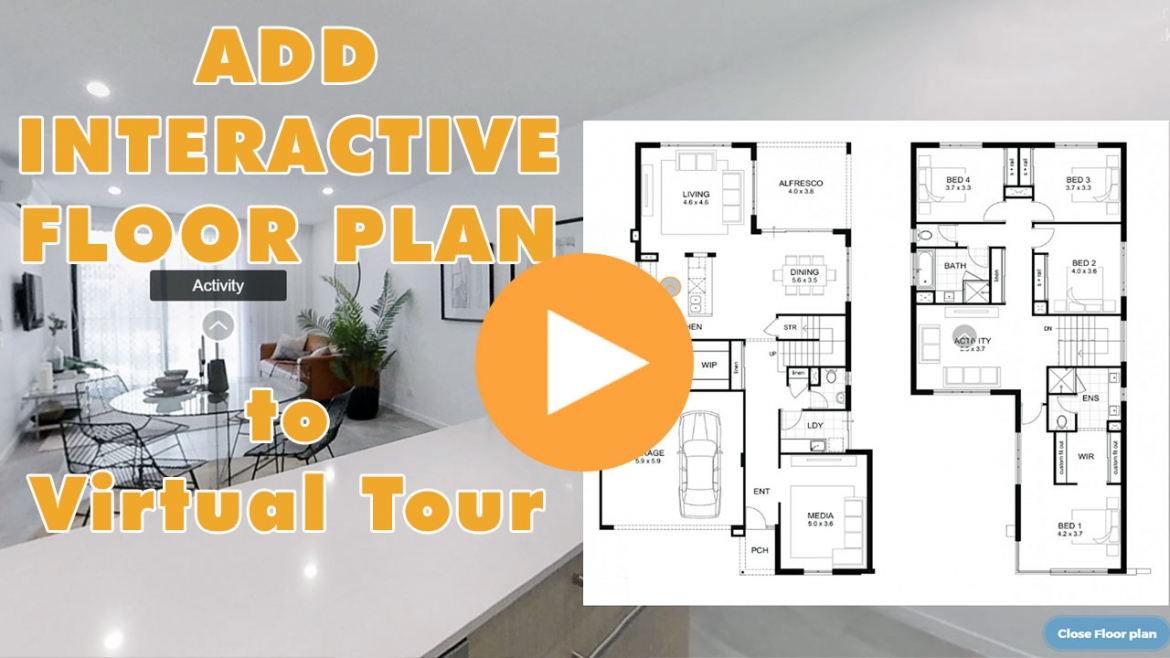 How to add a floor plan to a virtual tour