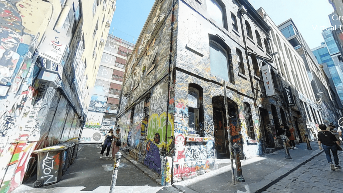 Best Street Art in Melbourne and Culture Kings virtual tour