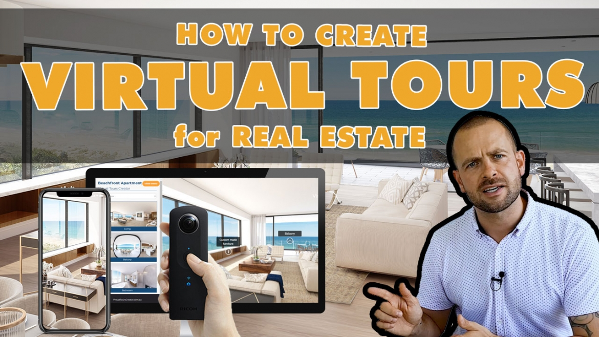 How to create virtual tours for real estate – free tutorial on how to use Virtual Tours Creator