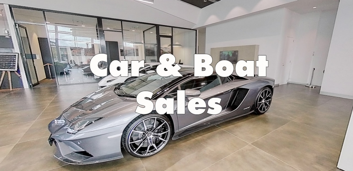 360 Virtual Tours for Car and Boat sales