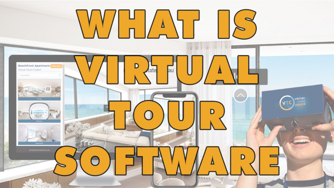 What is a virtual tours software