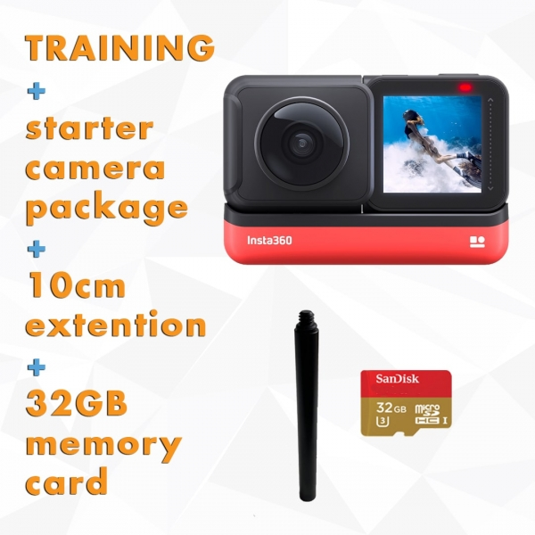 Training-+Insta360-OneR-360-edition-starter-camera-package