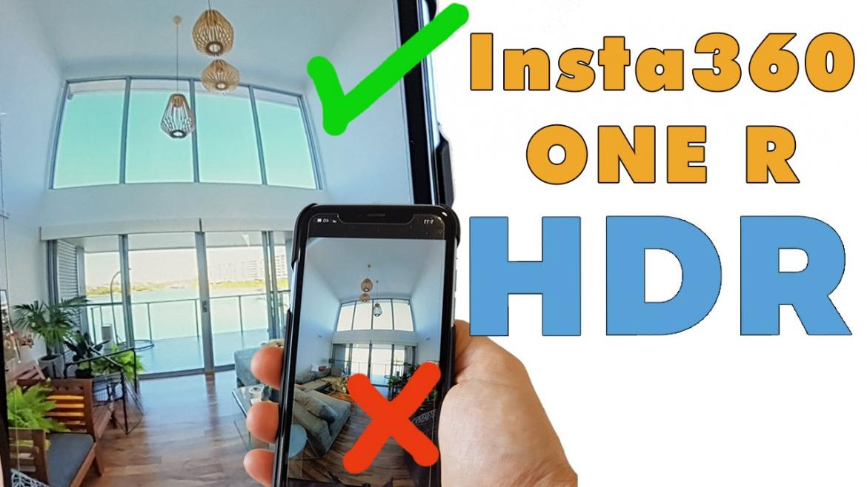 Take HDR photos using Insta360 OneR